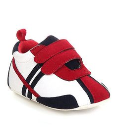 Another great find on #zulily! Red Run Sneaker #zulilyfinds