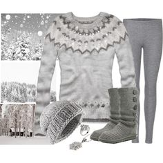 Warm and cozy at the cottage, created by trinavokes on Polyvore