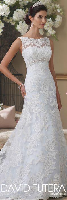 The David Tutera for Mon Cheri Wedding Gown Collection - Style No. 113211A  Anita-Marie  davidtuteraformoncheri.com #weddingdresses #weddinggowns