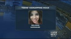 """""""A friend of 17-year-old Melannie Dominguez told Parlier Police two men attacked them and kidnapped Melannie Monday night.    An Amber Alert went out, and more than a hundred volunteers spent the night looking for her.    People blew up Twitter with the hashtag """"FindMel."""" In fact, it became a worldwide trending topic on Twitter."""""""