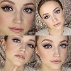 Pretty pink makeup by KathleenLights!