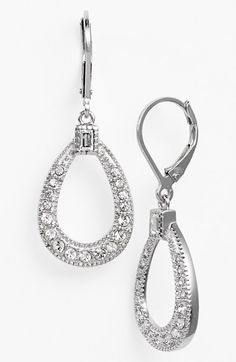 Judith Jack 'Shine On' Teardrop Earrings available at #Nordstrom