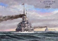 Pintura Militar y Naval: Crucero alemán Lützow