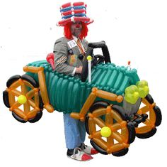 Balloon+Twisting+Animals | Balloon Twisting - Random Tangerines!!!!!