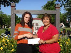 Jessica Cirullo won $ 250.00 from Fall Festival sponsor, the Frankfort Chamber of Commerce, for her winning poster design!