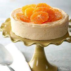 An Amazing Recipe For A Ginger-Orange Cheesecake