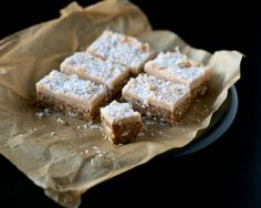 Raw Chai Bars with Cream Cheese Frosting  soy-free, raw, oil-free, gluten-free