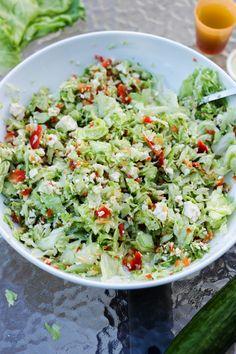 Salade croquante & feta