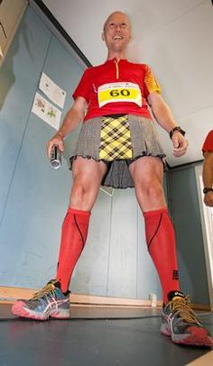 Take a good look - what is underneath the kilt....?