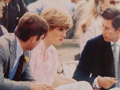 July 26, 1981: Prince Charles & his fiance, Lady Diana Spencer & Prince…