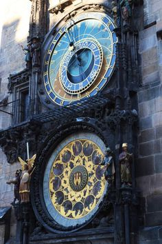 The oldest working astronomical clock, installed in Prague, 1410