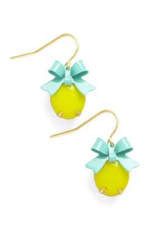 ModCloth When Life Gifts You Lemons Earrings