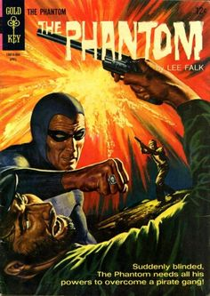 The Phantom #11 (Apr '65) painted cover by George Wilson.