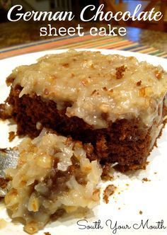 Remember the God Bless America Cake? The minute I tasted that caramel icing with all the pecans and coconut...