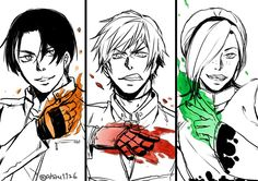 Kyo, K', and Ash Fanart, King Of Fighters, Fighting Games, Street Fighter, Barbie Dolls, Videogames, Action Figures, Manga, Drawings