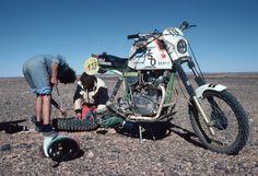 Pierre BERTY - BERTY CARRERA X52 750 - #dakar 1982.