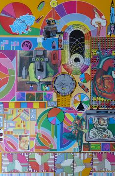 POP ART! Coming up in our October 2016 Fine Art auction: Eduardo Paolozzi (1924-2005) (ARR), B.A.S.H., signed, dated 1971 and numbered 160/3000, screenprint in colours, 74 x 49.5cm.