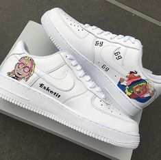 """more photos bbe9f 19f33  everysize on Instagram  """"Custom  nike Air Force 1 🔥 • Comment if you  would cop or drop! • Customized by  ta customs  customkicks  customsneaker   airforce1 ..."""
