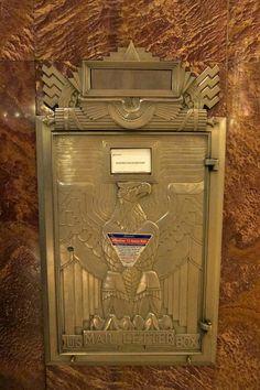 Chrysler Building - US Mail Letter Box