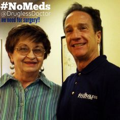 In this week's #NoMeds testimonial, one of my patients shares that since she has been coming to The Drugless Doctors, she did not need spinal surgery, and has reduced both her pain and inflammatory medication! http://youtu.be/XiBIF8yavFo #health #testimony #medication #surgery