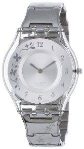 Swatch Women's SFK300G quartz stainless steel silver casual Watch