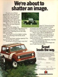 i love old adds. jeep