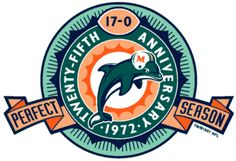 1972 MIAMI DOLPHINS. The only NFL team to ever go undefeated through the regular season, playoffs and Super Bowl!