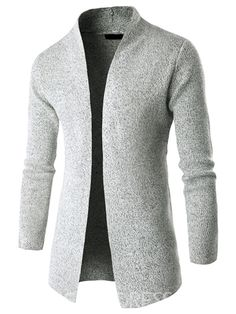 Flash Sale Sweaters Fashion Coat Men 2017 Stand Up Collar Sweater Male Brand Casual Men Thin Cardigan Men'S Sweater Mens Fashion Blazer, Mens Fashion Sweaters, Suit Fashion, Sweater Fashion, Fashion Coat, Fashion Shirts, Fashion Clothes, Mode Costume, Trench Coat Men