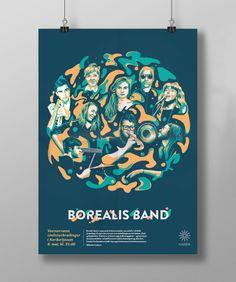 Borealis Band on Behance