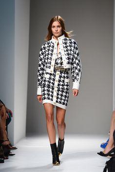 Bold Black and White: Balmain S/S 2014 Runway Show. ModaMob Fashion and Style Lookbooks.