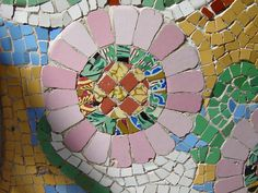 flower detail, Palau de la Musica Catalana, by Mutaner, Barcelona by StevenC_in_NYC, via Flickr