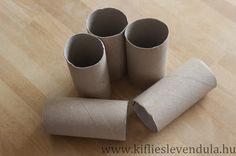 Kifli és levendula: Nyuszik papírgurigából