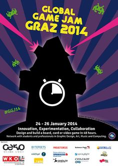 Cervo sponsors the Global Game Jam Graz! Collaboration, Innovation, Student, Games, Poster, Savings Bank, Graz, Gaming, Plays