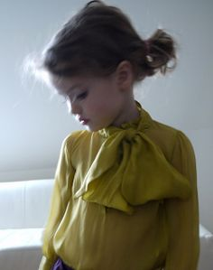 Blouse for little girl - beautiful