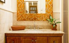 Bathroom by Marie Burgos Design   Bathrooms   Photo Gallery Of Beautiful Decorated Rooms