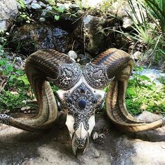 #Ram traits: Determination, Action, Power, Energy, Courage, Valor, Dominating. In Chinese astrology, ram is symbolic of sensitivity and perseverance. This ram carving has a 3rd lapis eye bringing guidance and intuition to the lucky owner of this skull. . #JalanJalanImports #OwlFalls #TopangaCanyon :: remember to #shoplocal :: . ∞ #happy #love #malibu #la #namaste #losangeles #meditation #meditate #waterfall #buylocal #create #zen #om #jalanjalan #handcarved #statue #designerdiscount…