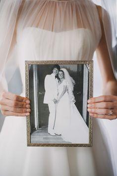 Sentimental touches | Photography: Whitney Krutzfeldt - wckphotography.com/vancouver-wedding-photographer  Read More: http://www.stylemepretty.com/canada-weddings/2014/04/16/vancouver-penthouse-wedding/