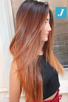 Beauty and Degradé Joelle! #cdj #degradejoelle #tagliopuntearia #degradé #igers #musthave #hair #hairstyle #haircolour #longhair #ootd #hairfashion #madeinitaly #wellastudionyc