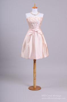 1950 Blush Cocktail Dress