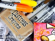 ****EXPAND FOR DETAILS**** Join Nina-Marie as she shares tips and tricks on using the Tim Holtz Distress Crayons to watercolor stamped images on both waterco...