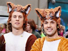 """They gave the world the bizarre """"The Fox (What Does The Fox Say?)"""" earlier this year and now Norwegian comedy duo Ylvis have signed a children's book deal."""