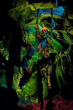 Inside the Phantom Manor in Disneyland Paris. Click to read more
