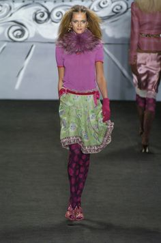 New York Fall 2004 - Anna Sui