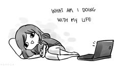 Haha this is how I've felt the last two weeks while sick in bed watching How I Met Your Mother!