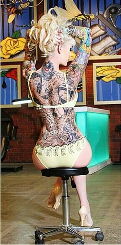 Sabina Kelley Pin-Up - Tattoo - Inked