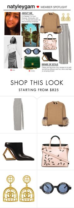 """Member Spotlight: Natyleygam"" by polyvore ❤ liked on Polyvore featuring Campanile, Balenciaga, Michael Kors, Giancarlo Petriglia, Vintage, Chanel and MemberSpotlight"