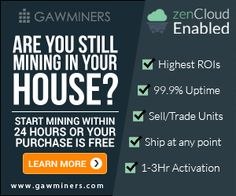 GAWMiners Acquires Controlling Equity In ZenMiner for $8M