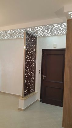 Stunning Privacy Screen Design for Your Home 36 Pooja Room Design, Home Room Design, Living Room Designs, House Design, Living Room Partition Design, Room Partition Designs, Partition Ideas, Partition Screen, Divider Screen