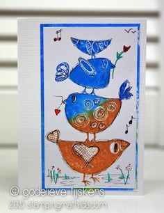 StampingMathilda: Birds and Doodles