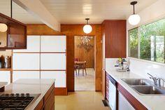 Eichler Original Kitchen Restored
